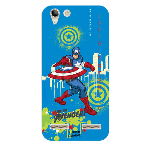 Captain America Full Splash  Lenovo A6000 Case Cover