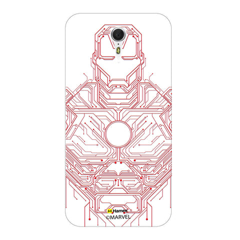 Iron Man Circuit  Lenovo ZUK Z1 Case Cover