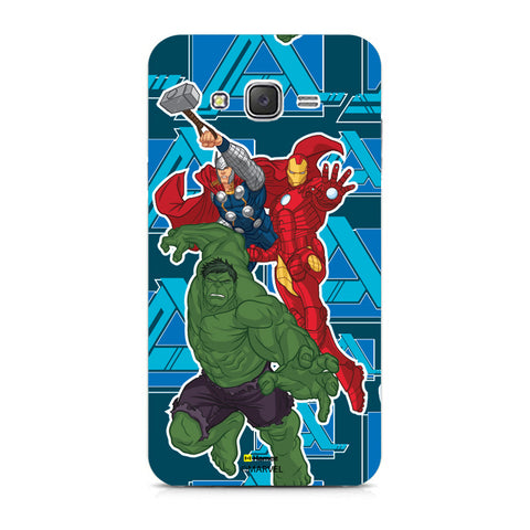 Iron Man Hulk Thor  Xiaomi Redmi 2 Case Cover
