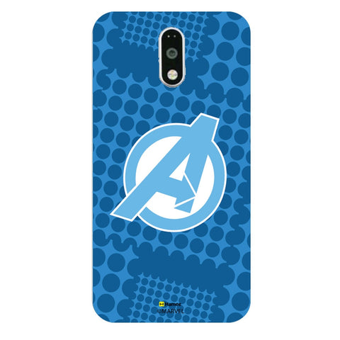 Avengers Logo Blue  Moto G4 Plus Case Cover