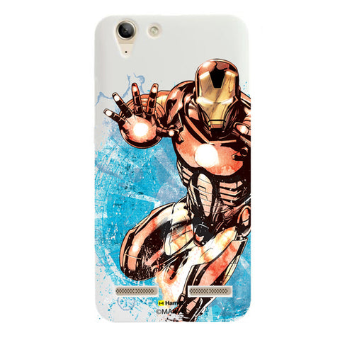 Iron Man Brush  Lenovo A6000 Case Cover
