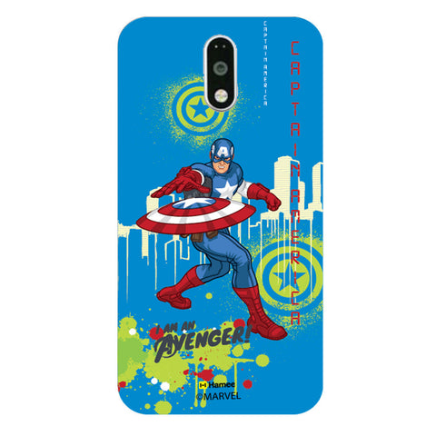 Captain America Full Splash Case  Redmi Note 3 Case Cover