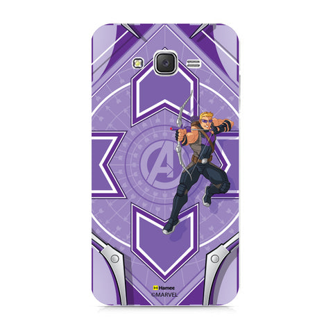 Hawk Eye Purple  Samsung Galaxy J7 Case Cover