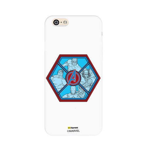 Avengers Hexagon  iPhone 6S/6 Case Cover