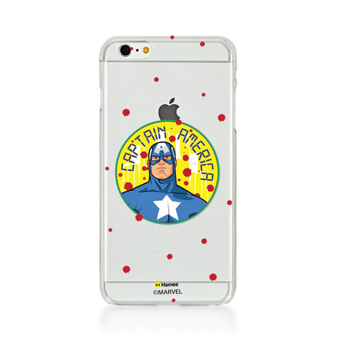 Captain America Paint Drops  iPhone 6 Plus / 6S Plus Case Cover