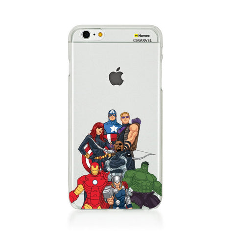 Avengers Group Bottom  iPhone 6 Plus / 6S Plus Case Cover