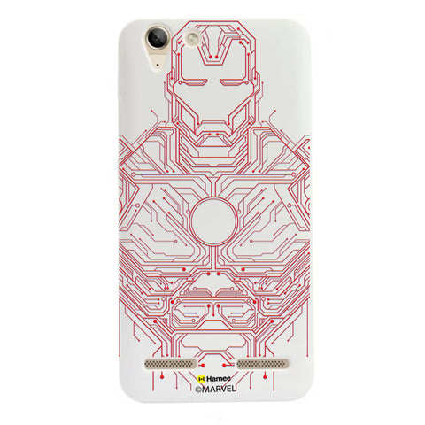 Iron Man Circuit  Lenovo A6000 Case Cover