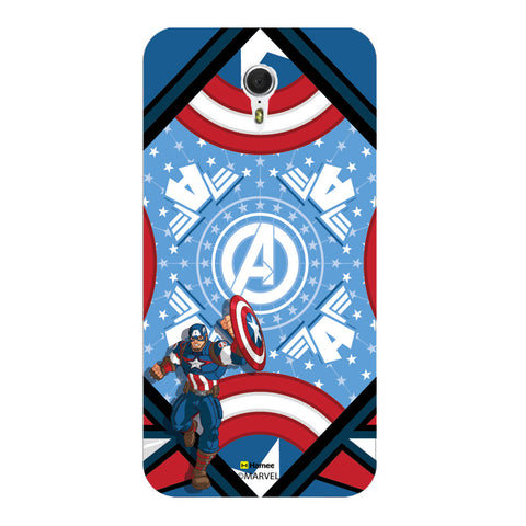 Captain America Blue  Meizu M3 Note Case Cover