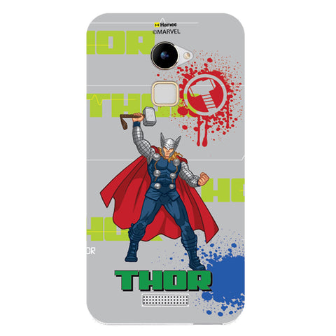 Thor Gray Splash  Coolpad Note 3 Lite Case Cover