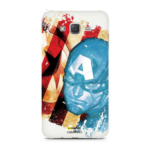 Captain America Fade 2  Samsung Galaxy J7 Case Cover