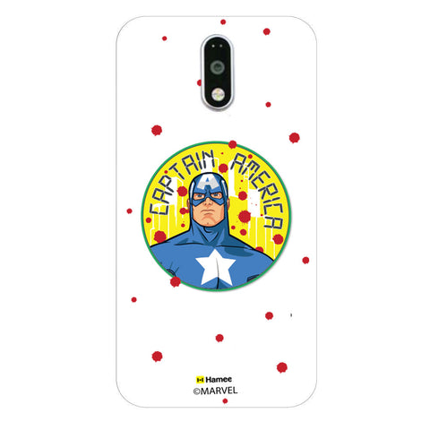 Captain America Paint Drops Case  Redmi Note 3 Case Cover