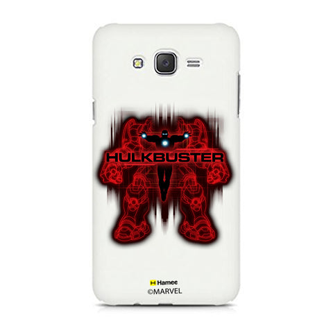 Hulk Buster Red Black  Samsung Galaxy J7 Case Cover
