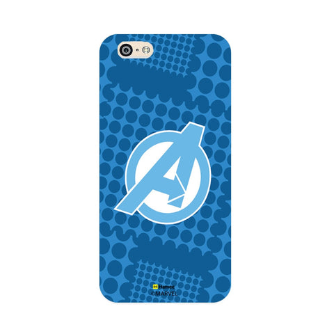 Avengers Logo Blue  iPhone 6 Plus / 6S Plus Case Cover