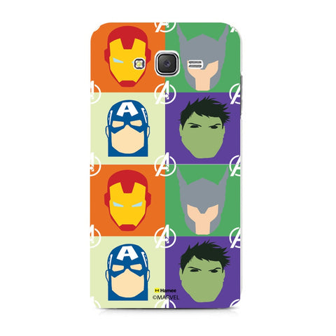 Avengers Group Paint  Samsung Galaxy J7 Case Cover