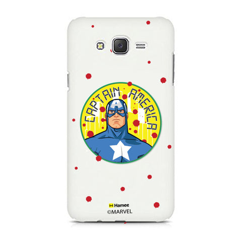 Captain America Paint Drops  Samsung Galaxy J7 Case Cover