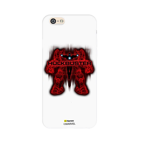 Hulk Buster Red Black  iPhone 6S/6 Case Cover