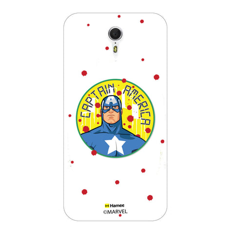 Captain America Paint Drops  Lenovo ZUK Z1 Case Cover