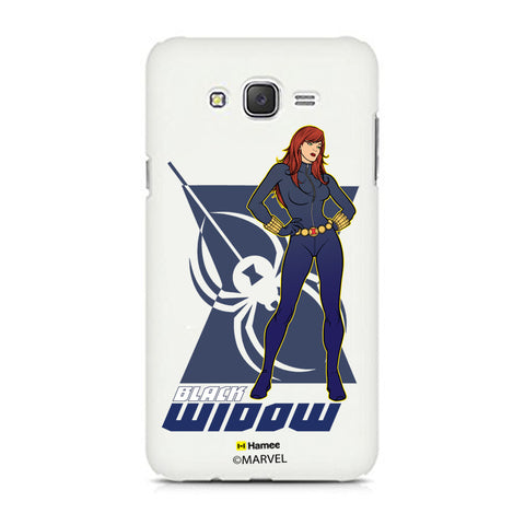 Black Widow Pose  Samsung Galaxy J7 Case Cover
