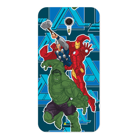 Iron Man Hulk Thor  Meizu M3 Note Case Cover