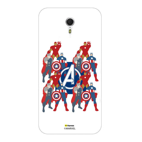 Avengers With Logo Paint  Meizu M3 Note Case Cover
