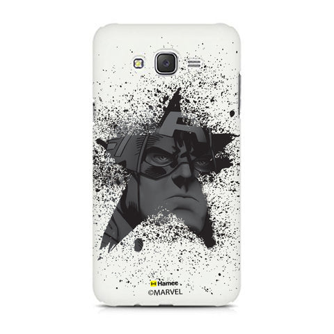 Captain America Black Star  Samsung Galaxy J5 Case Cover