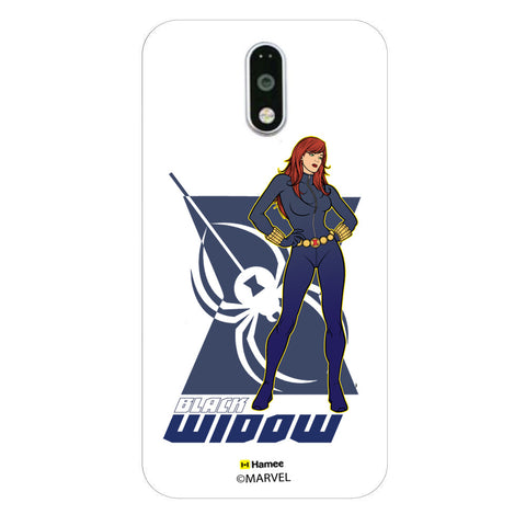 Black Widow Pose  Moto G4 Plus Case Cover