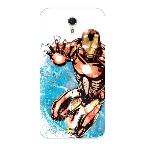 Iron Man Brush  Lenovo ZUK Z1 Case Cover