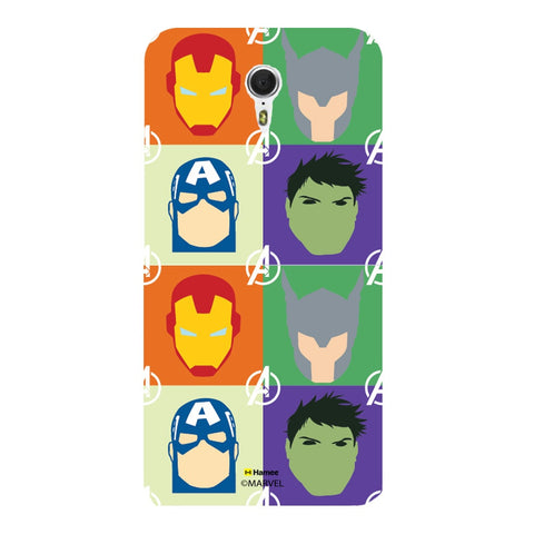 Avengers Group Paint  Meizu M3 Note Case Cover