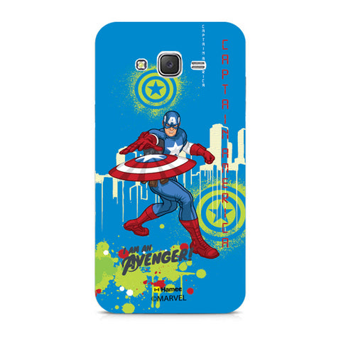 Captain America Full Splash  Xiaomi Redmi 2 Case Cover