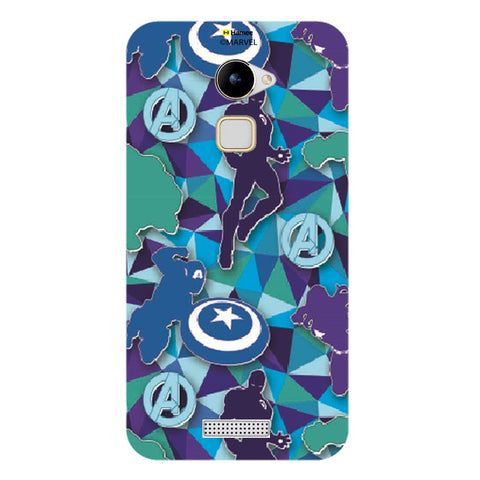 Avengers Silhouette Blue  Coolpad Note 3 Lite Case Cover