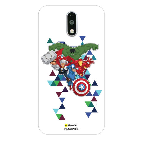 Avengers Triangles  Moto G4 Plus Case Cover