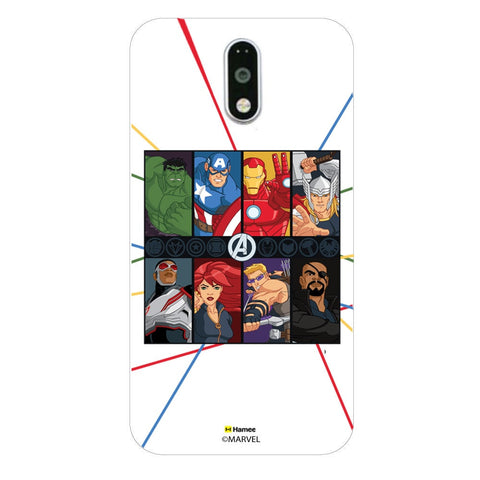 Avengers Faces  Moto G4 Plus Case Cover