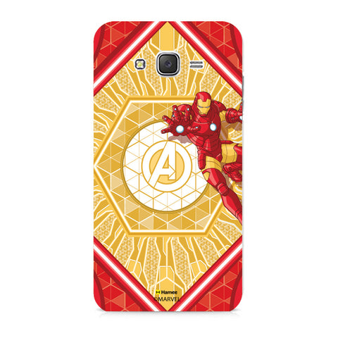 Iron Man Red  Samsung Galaxy J7 Case Cover