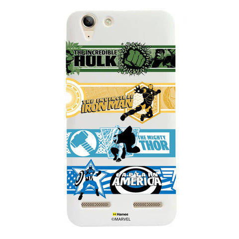 Avengers Border  Lenovo A6000 Case Cover