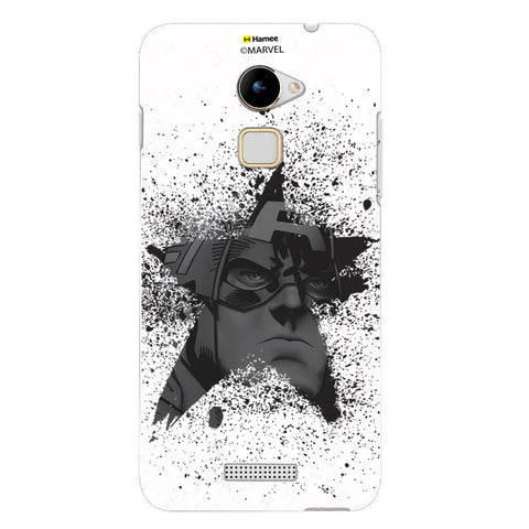 Captain America Black Star  Coolpad Note 3 Lite Case Cover
