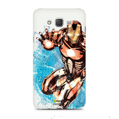 Iron Man Brush  Samsung Galaxy J5 Case Cover