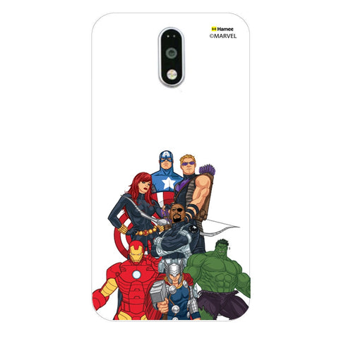 Avengers Group Bottom  Moto G4 Plus Case Cover