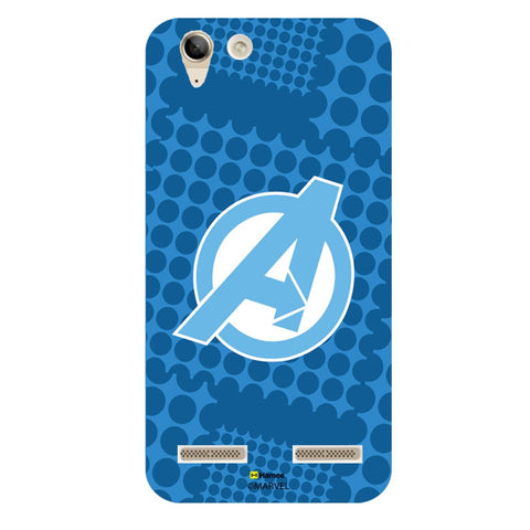 Avengers Logo Blue  Lenovo Vibe K5 Plus Case Cover