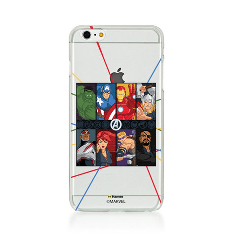 Avengers Faces  iPhone 6 Plus / 6S Plus Case Cover