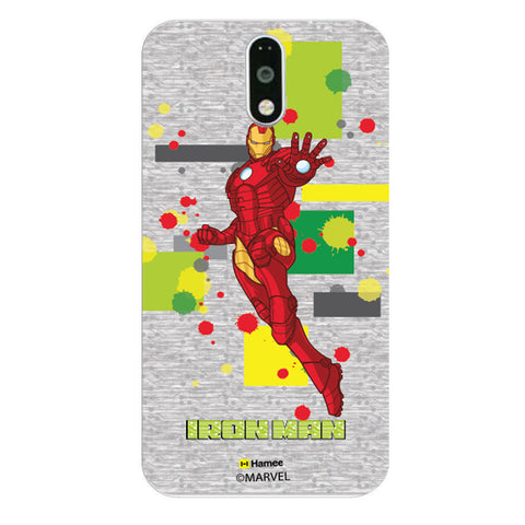 Iron Man Splash  Moto G4 Plus Case Cover