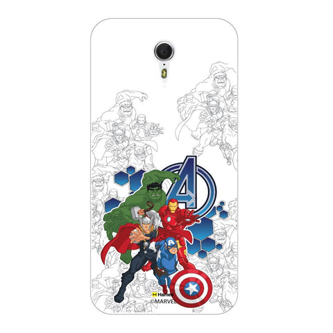 Avengers Group Sketch  Lenovo ZUK Z1 Case Cover