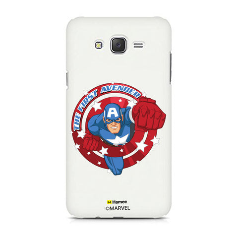 Captain America First  Samsung Galaxy J7 Case Cover