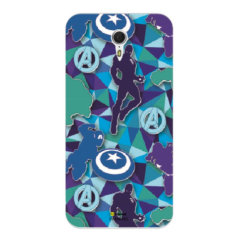 Avengers Silhouette Blue  Oneplus 3 Case Cover