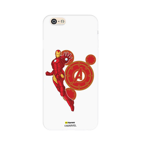 Iron Man Red Circles  Oppo F1 Case Cover