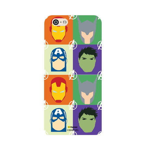 Avengers Group Paint  Oppo F1 Case Cover
