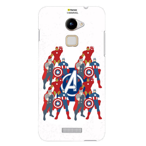 Avengers With Logo Paint  Coolpad Note 3 Lite Case Cover