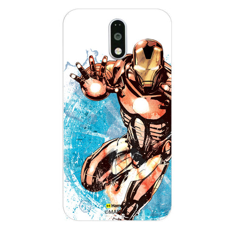 Iron Man Brush  Moto G4 Plus Case Cover