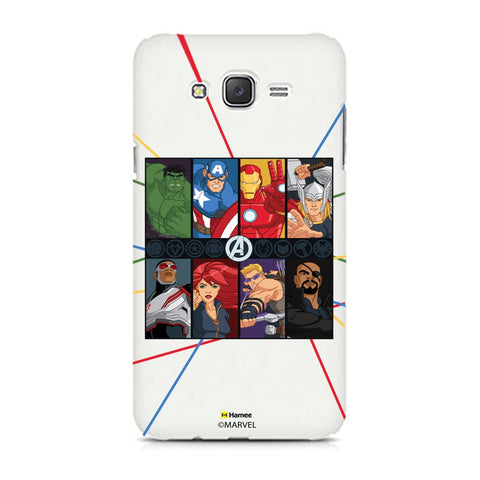 Avengers Faces  Samsung Galaxy J7 Case Cover