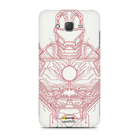Iron Man Circuit  Xiaomi Redmi 2 Case Cover