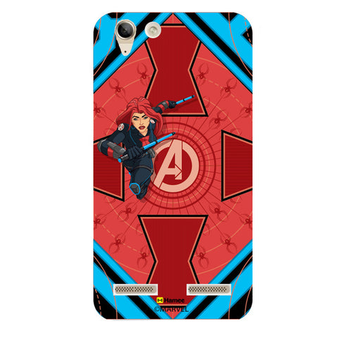 Black Widow Red  Lenovo A6000 Case Cover